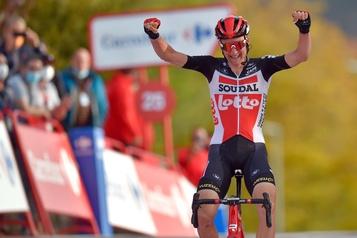 Tour d'Espagne Tim Wellens remporte la 5eétape)
