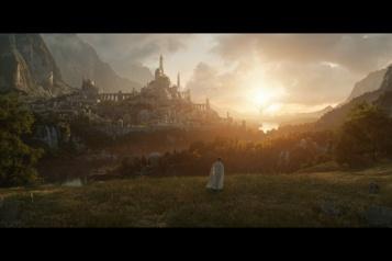 Seigneur des anneaux Une première image et une date de sortie pour la série télévisée )