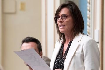 Violence conjugale: QS conteste le leadership de la ministre Charest