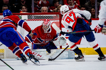 Capitals 4 - Canadien 2 (pointage final)