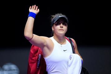 Bianca Andreescu se retire de l'Omnium du Qatar