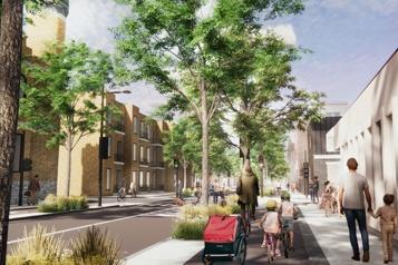 Des arbres (et moins d'asphalte) pour l'avenue desPins )