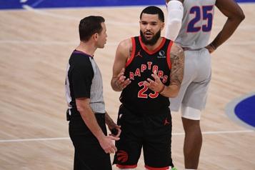 Altercation lors d'un match Raptors-Lakers Fred VanVleet et DeAndre Bembry sont suspendus)