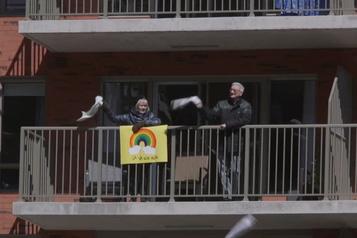 Les balcons de la solidarité