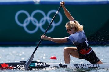 Canoë 200m Laurence Vincent Lapointe passe en demi-finale)