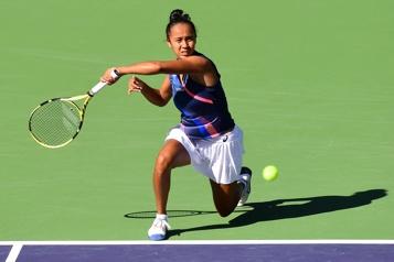 Tournoi d'Indian Wells Le parcours de Leylah Fernandez prend fin