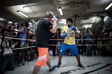 Manny Pacquiao songe à un éventuel combat contre Conor McGregor )