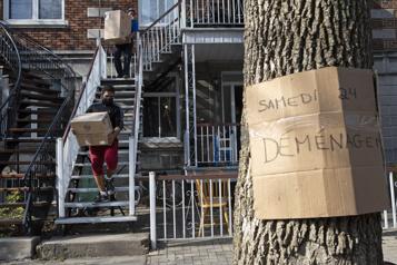 Crise du logement abordable à Montréal 37 ménages toujours en hébergement d'urgence)