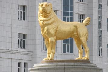 Turkménistan: un jour férié en l'honneur d'un chien de berger)