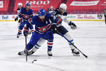 Pointage final Jets 5 – Canadien 0)