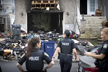 Laval Une fusillade fait deux blessés et déclenche un incendie)