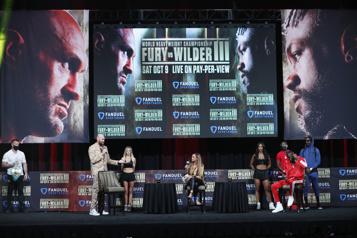 Boxe Fury contre Wilder, 3eround électrique