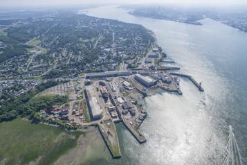 Garde côtière canadienne Chantier Davie construira un nouveau brise-glace)