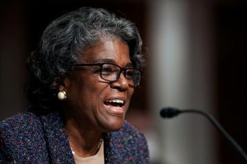 Linda Thomas-Greenfield confirmée comme ambassadrice des États-Unis à l'ONU)