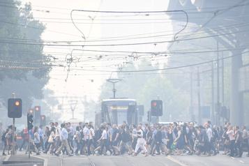 Australie: la fumée fait craindre pour la santé