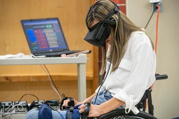 La réalité virtuelle pourtromper ladouleur