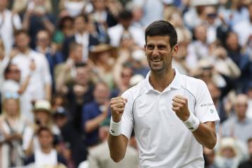 Wimbledon Un 20etitre en GrandChelem pour Djokovic)
