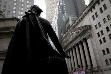 Wall Street stable au lendemaind'une chute)