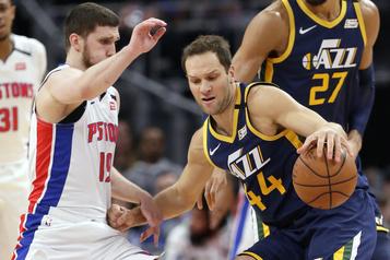 NBA : Bojan Bogdanovic, du Jazz, a été opéré au poignet)