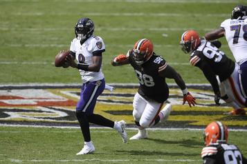 Ravens: Lamar Jackson reprend là où il avait laissé)