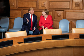 G7 à Washington: Merkel dit non à Trump)