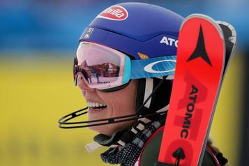 Shiffrin s'impose en slalom et signe sa 62evictoire en Coupe du monde