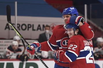 Marque finale Oilers 4 - Canadien 3)