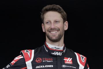Romain Grosjean débarque en Indycar après son accident en F1)