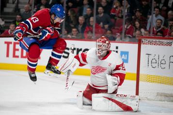 Red Wings1—Canadien0 (1er entracte)