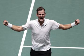 Coupe Davis: Vasek Pospisil donne les devants au Canada
