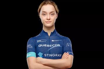 La cycliste Adèle Normand sous contrat en France)