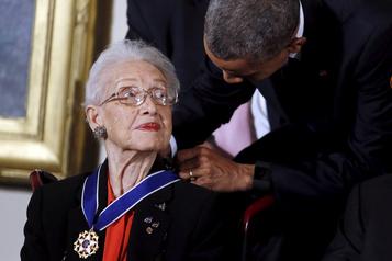 Katherine Johnson, pionnière de la course à la Lune, meurt à 101 ans