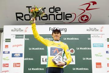 Tour de Romandie Geraint Thomas triomphe, Michael Woods termine cinquième)