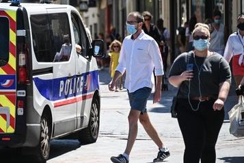 Le port du masque en extérieur va pouvoir être imposé en France)