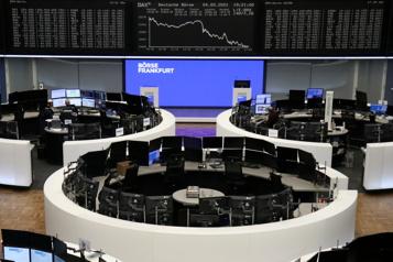 Les Bourses européennes rebondissent)
