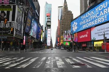 New York: les mesures de confinement prolongées jusqu'au 29avril