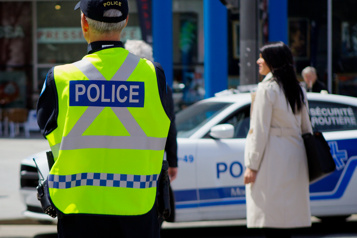 Chaque jour, au Québec, des policiers sauvent des vies)