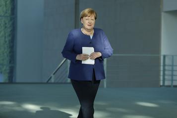 Vent de fronde autour du déconfinement en Allemagne)