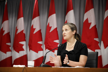 Tarifs sur l'aluminium: le Canada a des alliés de taille aux États-Unis, dit Freeland)