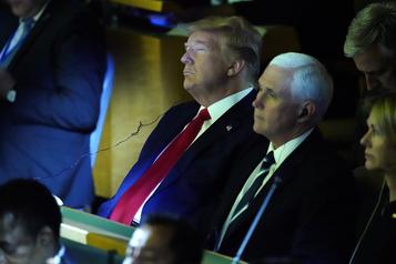 Donald Trump fait une apparition surprise au sommet sur le climat de l'ONU