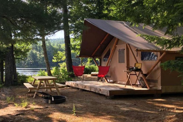 Un nouveau site Huttopia dans le Maine
