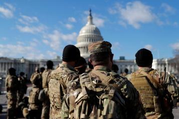 Liens avec des extrémistes Investiture de Joe Biden: deux militaires écartés après enquête)