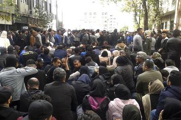 Iran: plus de 100 manifestants pourraient avoir été tués