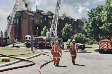 Incendie majeur à Gatineau)