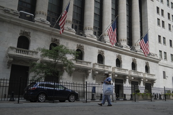 Fin de semaine dans le rouge à Wall Street)