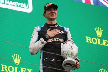 GrandPrix de Hongrie Esteban Ocon remporte sa première victoire en carrière, Vettel disqualifié)