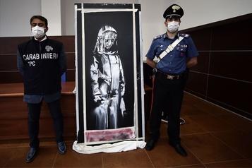 L'Italie restitue un Banksy volé au Bataclan)