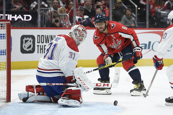 Canadien 1 – Capitals 1 (1er entracte)