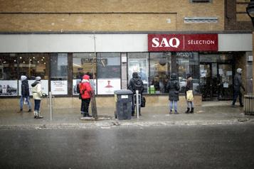 Des services en ligne temporairement hors service à la SAQ)