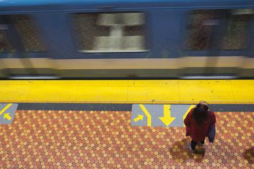 L'achalandage a chuté de 70% dans le métro